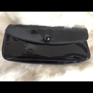 MARC JACOBS Patent Leather Evening Clutch